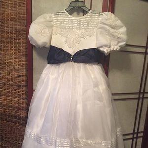 White Party Dress.